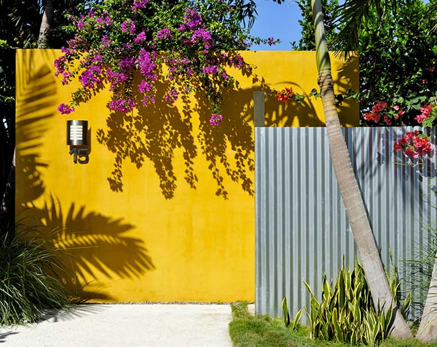 Colours For Outdoor Feature Walls - Outdoor Designs