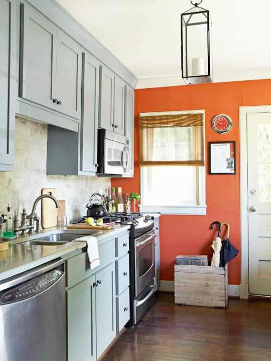 A Punchy Accent Colour<br/><span>can really make a kitchen</span>