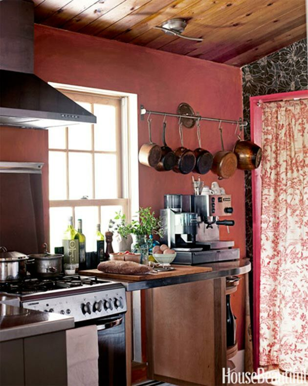 kitchen-marsala-wall-colour