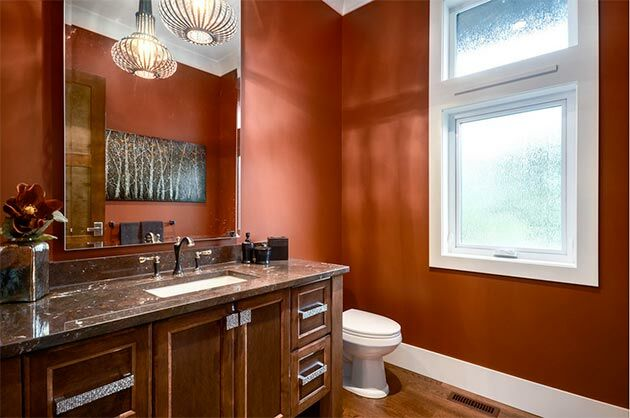 marsala-colour-bathroom
