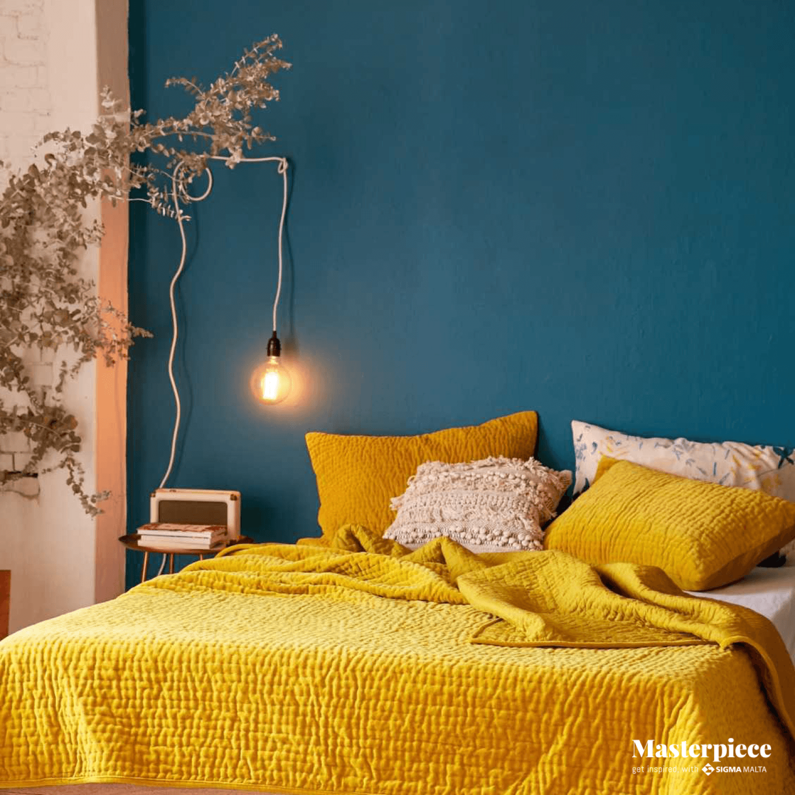Yellow and Blue</br><span> Bedroom</span>